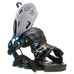 Flow Fuse GT Snowboard Bindings, Black-Blue, 256