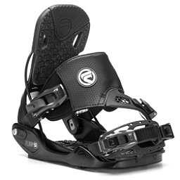 Flow Five Hybrid Snowboard Bindings, Black, 256