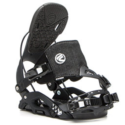 Flow Juno Hybrid Womens Snowboard Bindings, Black, 256