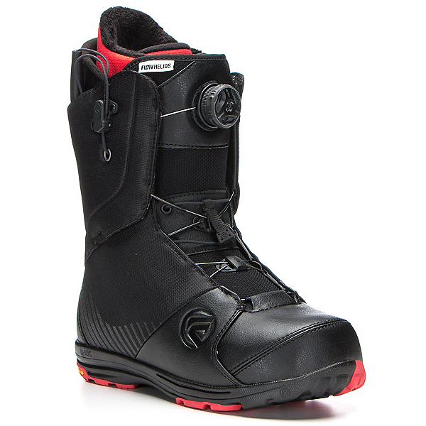 Flow Helios Hybrid Boa Snowboard Boots, Black, 600