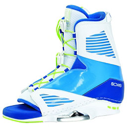 CWB Draft Wakeboard Bindings 2018, White-Blue, 256
