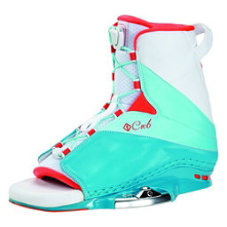 CWB Karma Womens Wakeboard Bindings 2017, Blue-White, 256