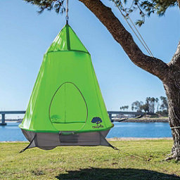 TreePod Hanging Treehouse 2017, Green, 256