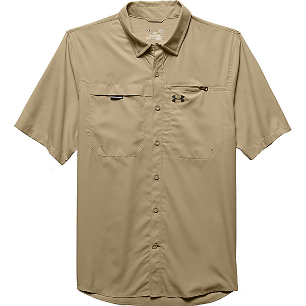 Under Armour Fish Stalker Short Sleeve Mens Shirt, , 600