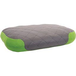 Sea to Summit Aeros Premium Deluxe Pillow 2017, Grey-Green, 256