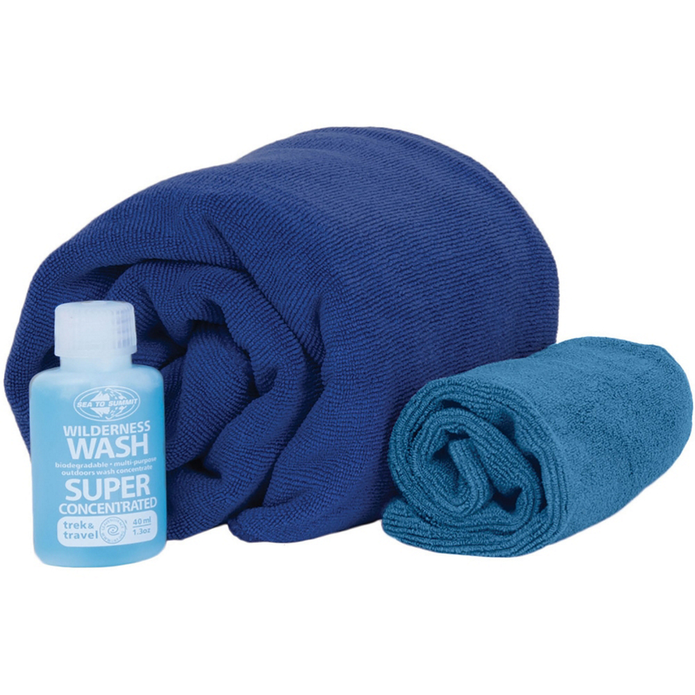Sea to Summit Tek Towel Wash Kit im test
