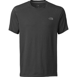 The North Face Kilowatt Short Sleeve Crew (Previous Season), Asphalt Grey Heather, 256