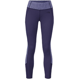 The North Face Women's Motivation Colorblock Printed Legging (Previous Season), Patriot Blue-Patriot Blue Heat, 256
