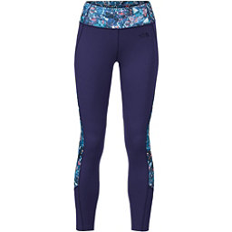 The North Face Women's Motivation Colorblock Printed Legging (Previous Season), Patriot Blue Gem Party Print, 256