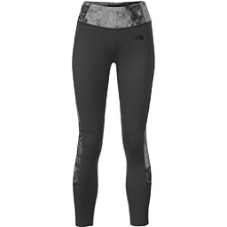 The North Face Women's Motivation Colorblock Printed Legging (Previous Season), Asphalt Grey-Asphalt Grey Foss, 256
