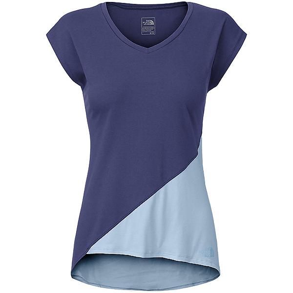The North Face Nueva Womens T-Shirt (Previous Season), Patriot Blue-Powder Blue, 600