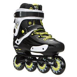 Fila Skates NRK Fun Inline Skates 2017, Black-Yellow, 256