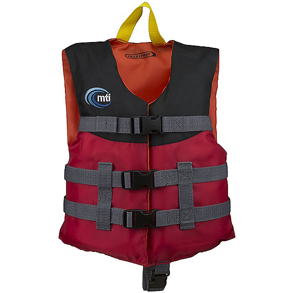 MTI Child Livery Life Jacket, Red, 600