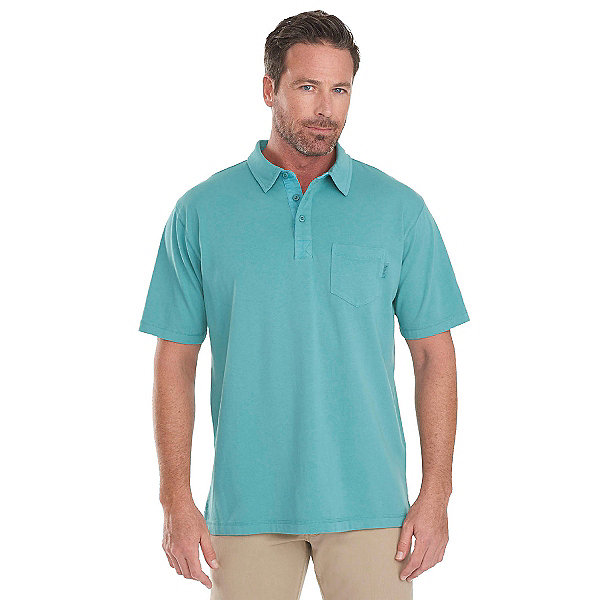 Woolrich First Forks 1-Pocket Polo Mens Shirt, Cove, 600
