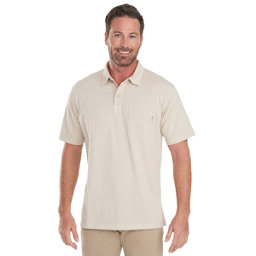 Woolrich First Forks 1-Pocket Polo Mens Shirt, Stone, 256