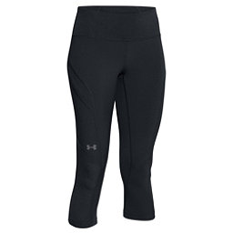 Under Armour ArmourVent Womens Trail Pant, Black-Glacier Gray, 256