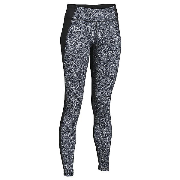 Under Armour Mirror Printed Leggings, Black-Black-Silver, 600