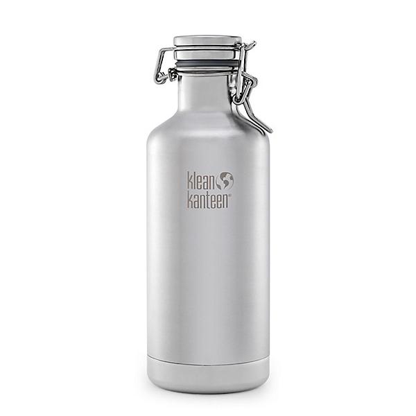 Klean Kanteen 32oz. Lok Cap Growler Insulated Water Bottle, , 600