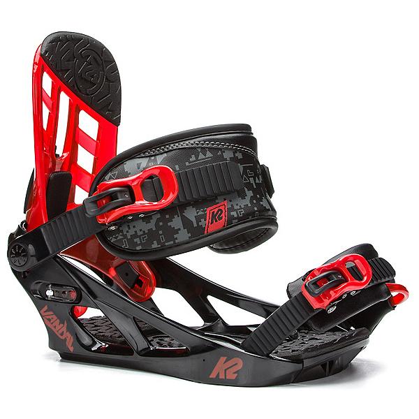 K2 Vandal Kids Snowboard Bindings, Black, 600