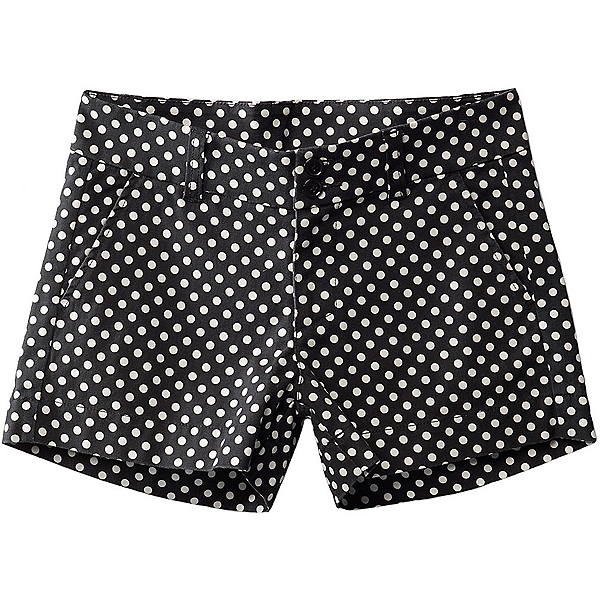 KAVU Catalina Womens Shorts, Black Dots, 600