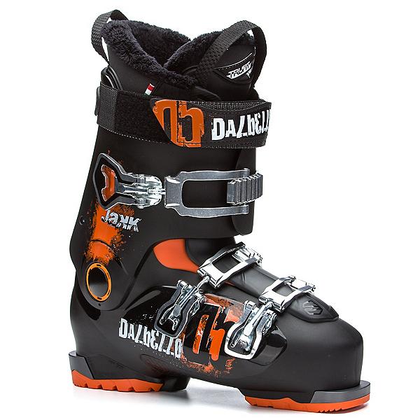 Dalbello Jakk Ski Boots, Black-Black-Orange, 600