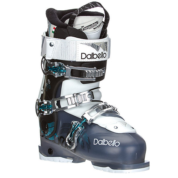 Dalbello Kyra 75 W Womens Ski Boots, Black Transparent-Black, 600