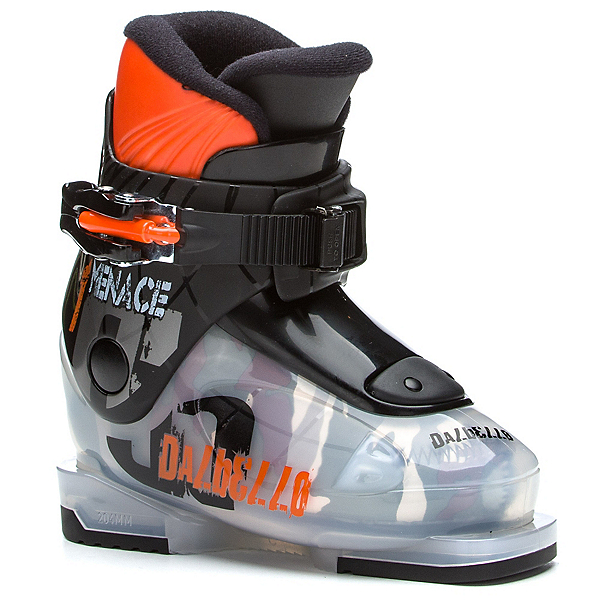 Dalbello Menace 1 Kids Ski Boots, Transparent-Black, 600