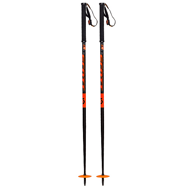 Scott Riot 22 Ski Poles, Black, 600