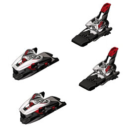 Marker XCell 12.0 Ski Bindings 2018, White-Black-Red, 256