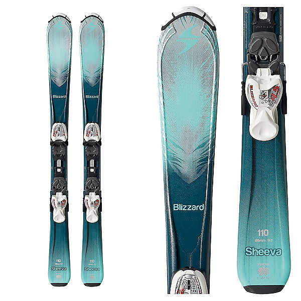 Blizzard Sheeva Jr. Kids Skis with IQ 4.5 Bindings 2018, , 600