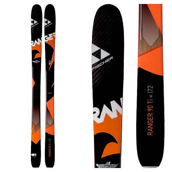 Fischer Ranger 90Ti Skis, , 600