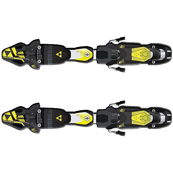 Fischer RC4 Z11 FreeFlex Ski Bindings 2018, Solid Black-Yellow, 600