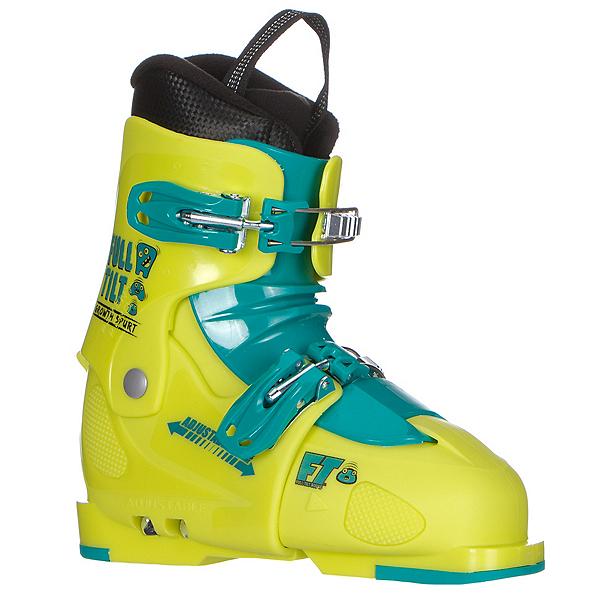 Full Tilt Growth Spurt Kids Ski Boots 2018, Green-Green, 600