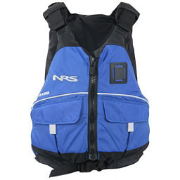 NRS Vista PFD Adult Kayak Life Jacket, Blue, 256