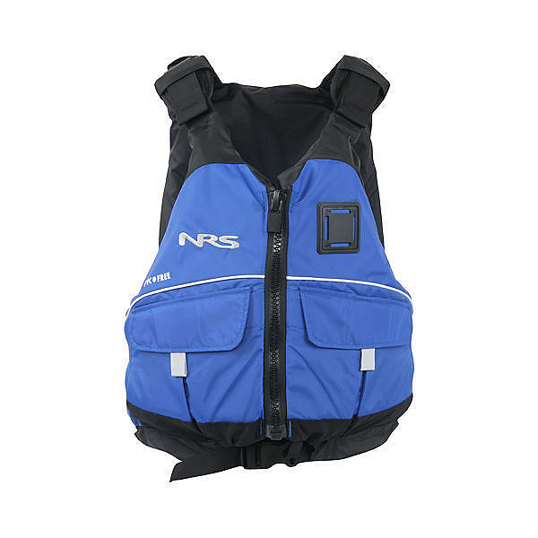 NRS Vista PFD Adult Kayak Life Jacket 2017, Blue, 600