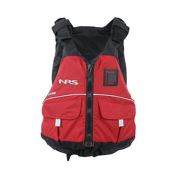 NRS Vista PFD Adult Kayak Life Jacket, Red, 600
