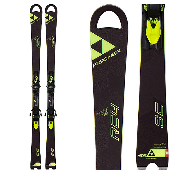 Fischer RC4 World Cup SC Race Skis with Z12 Powerrail Bindings 2017, , 600