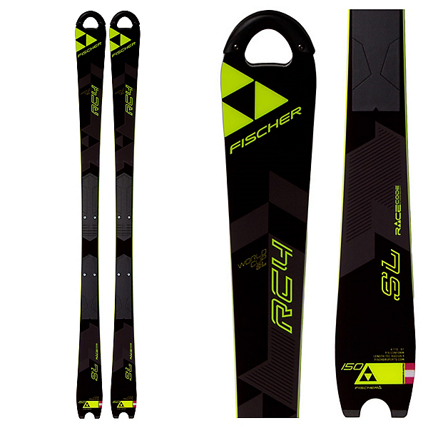Fischer RC4 World Cup SL Junior Race Skis 2017, , 600