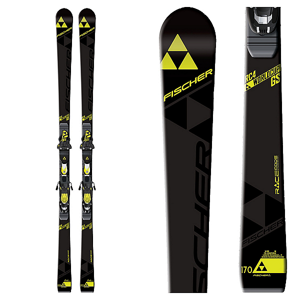 Fischer RC4 World Cup GS Jr. Curv Booster Junior Race Skis, , 600