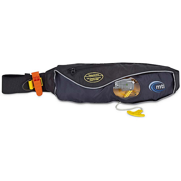 MTI Fluid 2.0 Inflatable Belt Pack - PFD, Black, 600