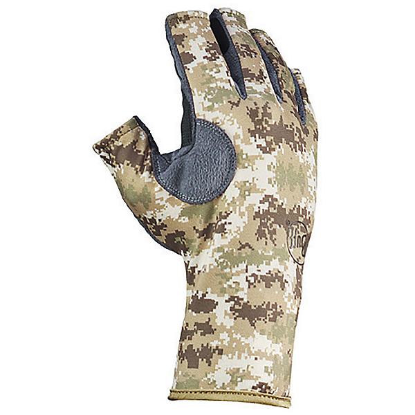 Buff Pro-Series Angler III Paddling Gloves, Pixel Desert, 600