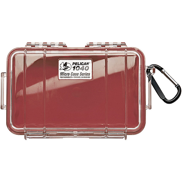 Pelican Case 1040 Micro Case 2017, Red-Clear, 600