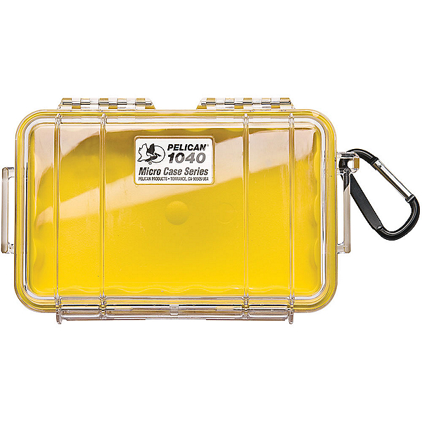 Pelican Case 1040 Micro Case 2017, Yellow-Clear, 600