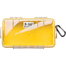 Pelican Case 1060 Micro Case 2017, Yellow-Clear, 256