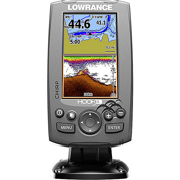 Lowrance Hook 4 Fish Finder, , 600