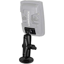 RAM Mounts Mount for Lowrance Elite-4 and Mark-4 Fish Finders, Light Use, 256