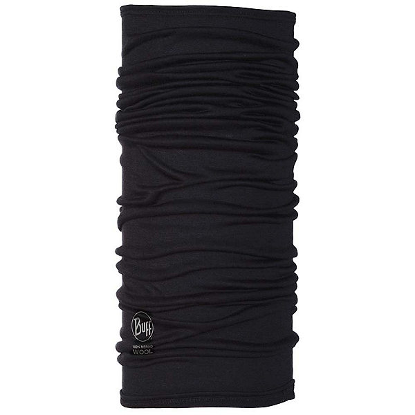 Buff Wool Multifunctional Headwear, Black, 600