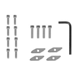 Yak Gear Universal Track Nut Kit - 4 pk., , 256