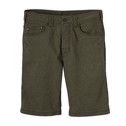 Prana Bronson 9in Mens Shorts, Cargo Green, 256