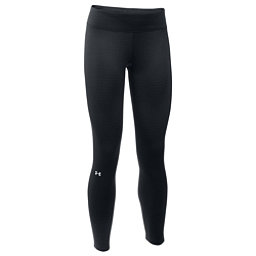 Under Armour Base 2.0 Womens Long Underwear Pants, Black-Glacier Gray, 256
